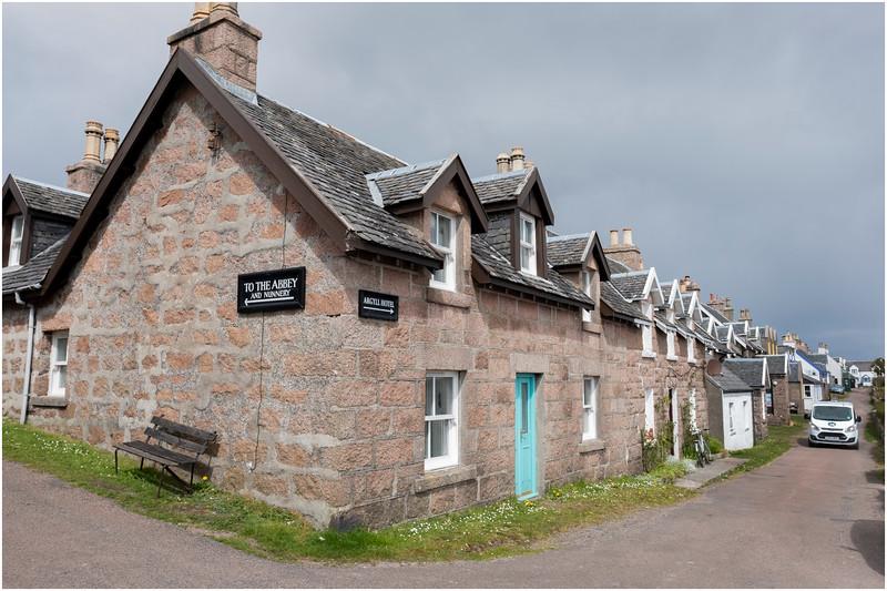 Scotland Isle of Iona Baile Mor 4 May 2019
