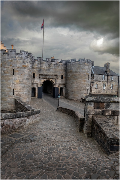 Scotland Stirling Castle 8 May 2019