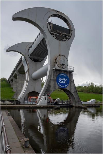 Scotland Falkirk Wheel 3 May 2019