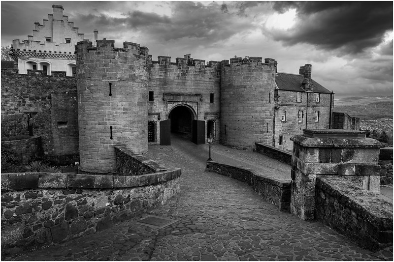 Scotland Stirling Castle BW 7 May 2019