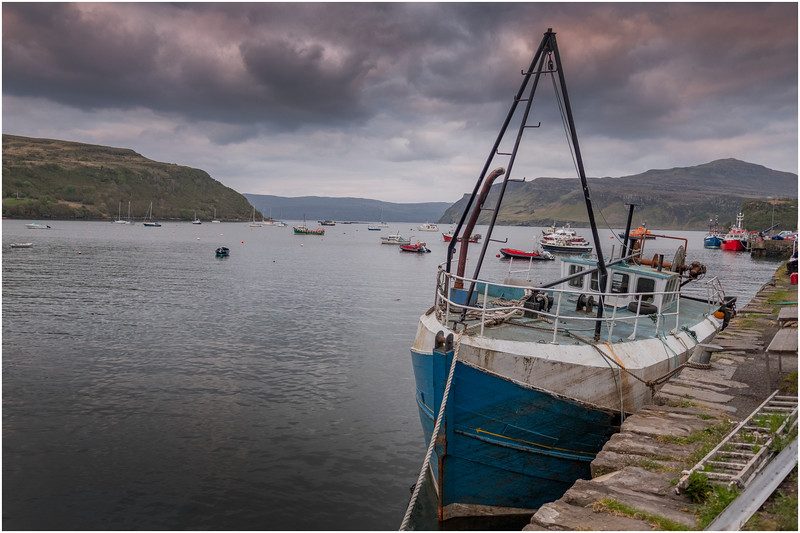 Scotland Isle of Skye Portree 3 May 2019