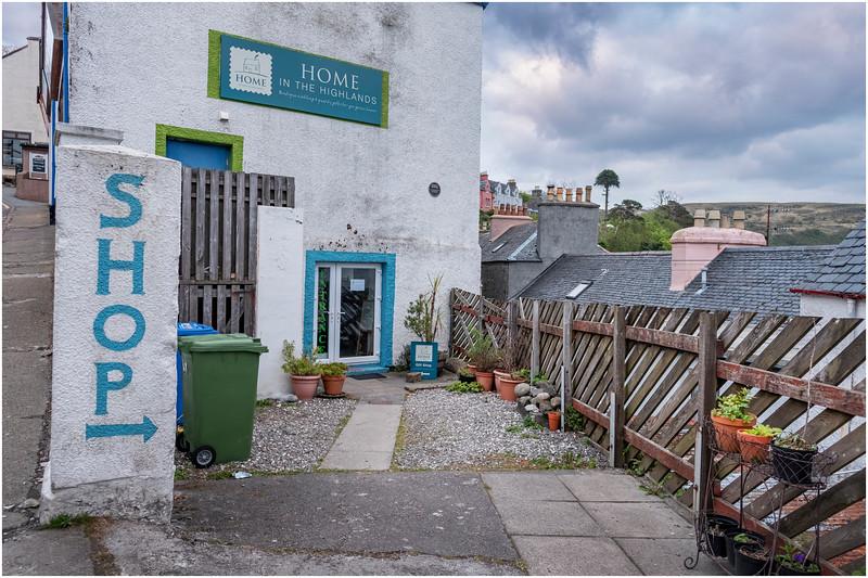 Scotland Isle of Skye Portree 14 May 2019