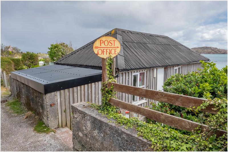 Scotland Isle of Iona Baile Mor 5 May 2019