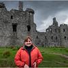 Scotland Loch Awe Kilchurn Castle Kim 4 May 2019