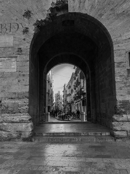 Trough the gate / Através do portão