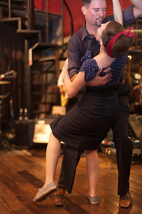 "Veteran swing dance regulars. ""Billy Blues"": Rockabilly and Blues Party at The Hop - Swing Dance Club, Silom, Bangkok."