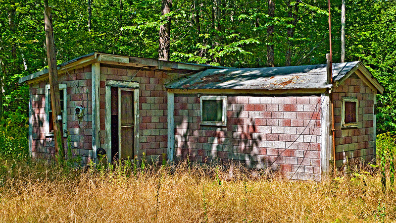 Shack by the Side of the Road, Ossipee, NH 2010