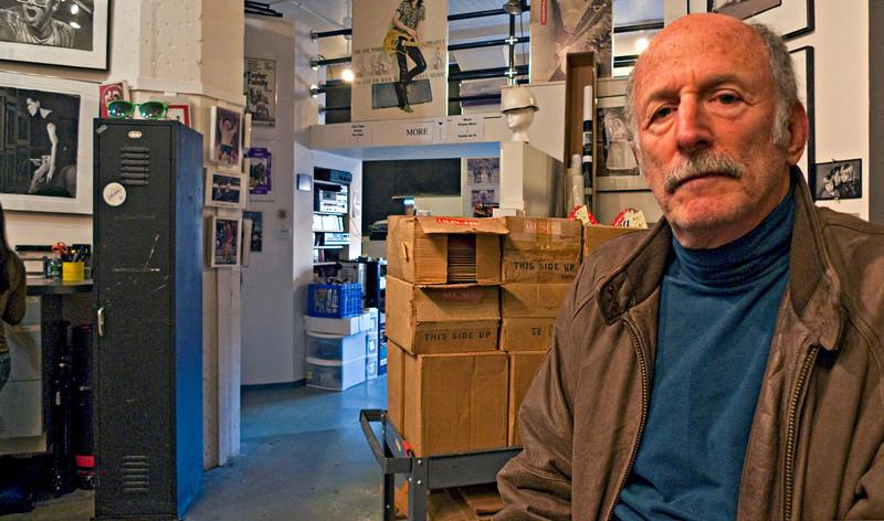 Marc Halevi in Ron Pownall's Studio, Somerville, MA 2010
