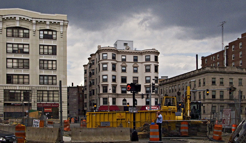 Approaching Storm, Kenmore Square. Boston, MA 2008