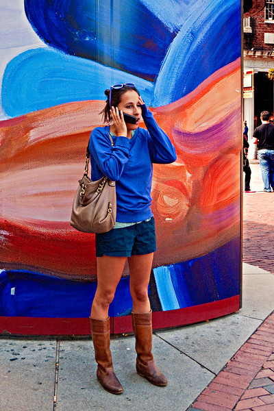 Cell Phone, Harvard Square, Cambridge, MA 2010