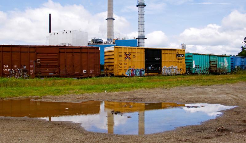 Rail Siding, International Paper Mill, Bucksport, ME 2008