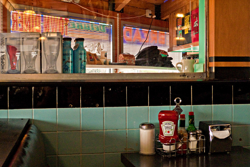 Detail, Deluxe Town Diner, Watertown, MA 2011