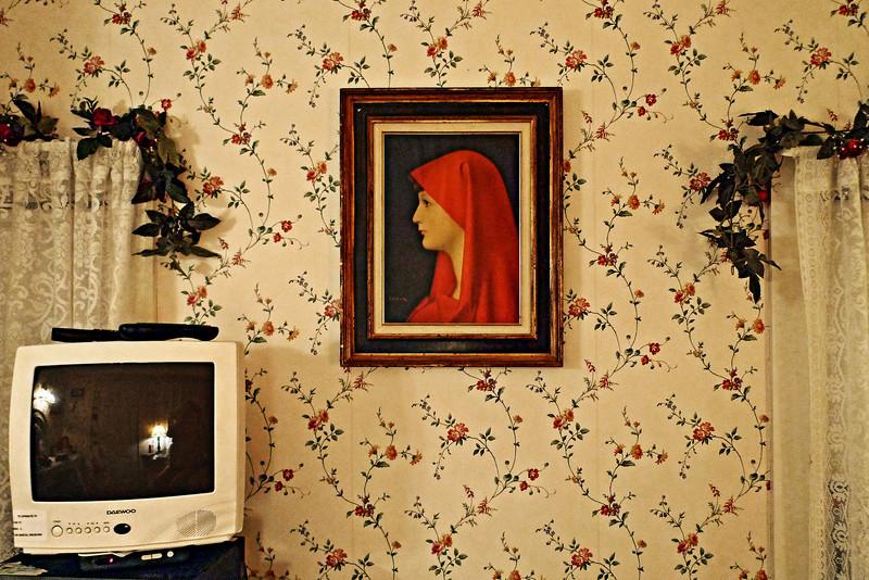 Bedroom Detail, Greenfield Inn, Greenfield, NH 2009