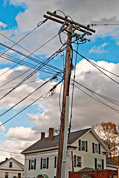 A Tangle of Wires, Waltham, MA 2010