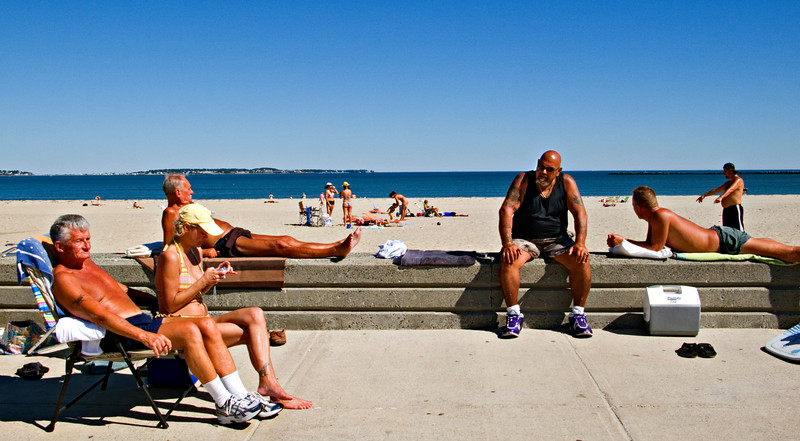 Sun Worshipers, Revere Beach, MA 2007