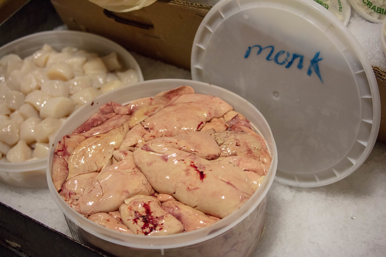 Monkfish liver, or Ankimo is a traditional Japanese delicacy
