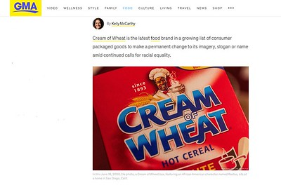 Cream of Wheat Brand Controversy.