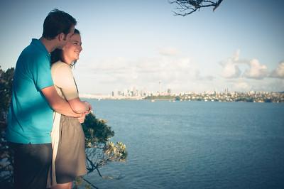 Aimee & Matt @ Kauri Pt