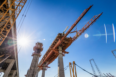 Gerald Desmond Bridge Replacement Project, Feb 2017