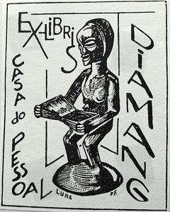 Ex-Libris, da Casa do Pessoal da Diamang,