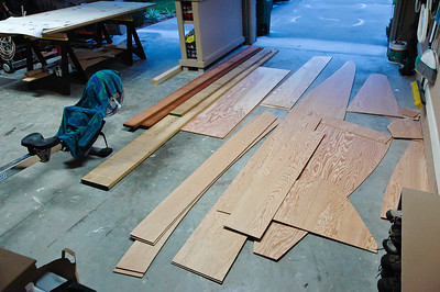 I cut through two sheets of marine plywood at the same time so both sides would match. This was the concept the plans led me to believe.