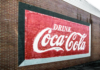 GA, Villa Rica -Coca-Cola Wall Sign 02