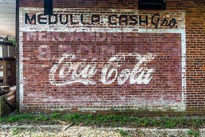 FL, Medulla - Coca-Cola Wall Sign