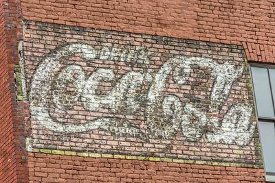 AL, Birmingham - Coca-Cola Wall Sign 02
