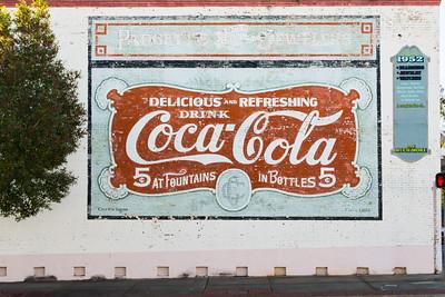 FL, Quincy - Coca-Cola Wall Sign