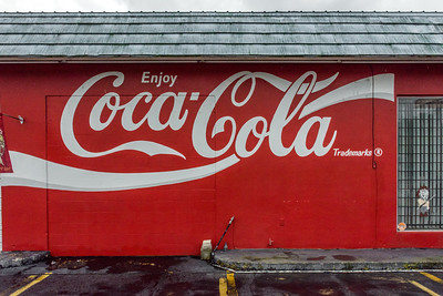 FL, Auburndale - Coca-Cola Wall Sign 02