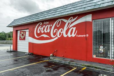 FL, Auburndale -Coca-Cola Wall Sign