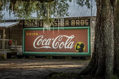 FL, Micanopy - Coca-Cola Wall Sign