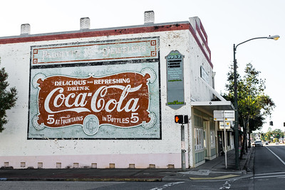 FL, Quincy - Coca-Cola Wall Sign