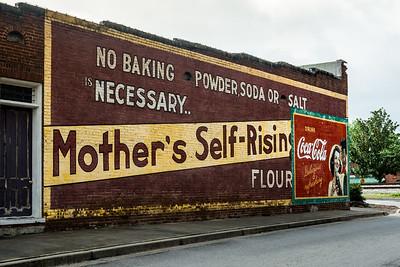 GA, Acworth - Coca-Cola Wall Sign 02