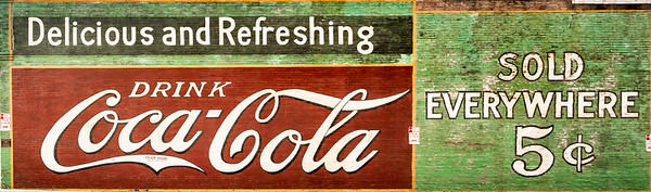 GA, Acworth - Coca-Cola Wall Sign 07