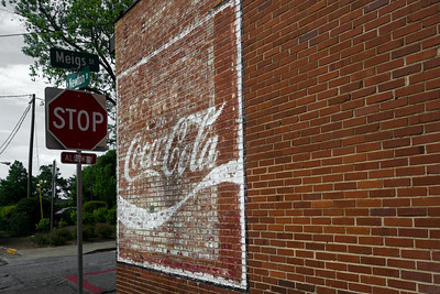 GA, Athens - Coca-Cola Wall Sign 02