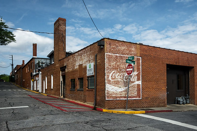 GA, Athens - Coca-Cola Wall Sign