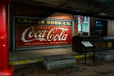 GA,  Atlanta -Coca-Cola Wall Sign 03