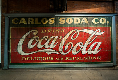 GA, Atlanta -Coca-Cola Wall Sign 04