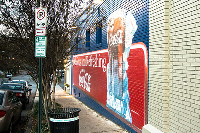 GA, Atlanta -Coca-Cola Wall Sign