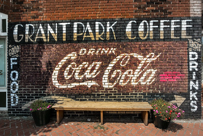 GA, Atlanta - Coca Cola Wall Sign 06