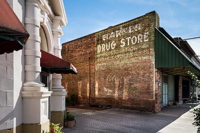GA, Baxley - Coca-Cola Wall Sign 02