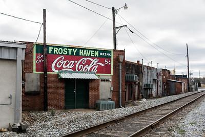GA, Bremen - Coca-Cola Wall Sign