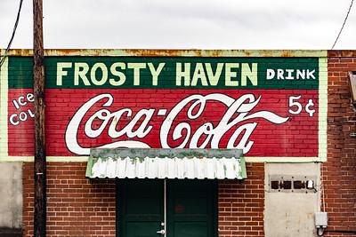 GA, Bremen - Coca-Cola Wall Sign 02