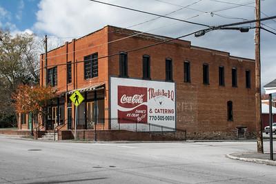 GA, Buchanan - Coca-Cola Wall  Sign