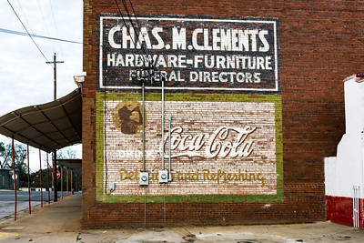 GA, Buena Vista - Coca-Cola Wall Sign 03