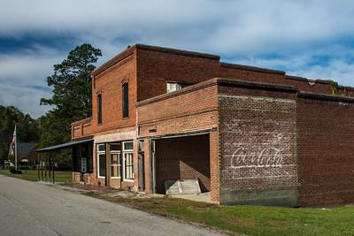 GA, Camak - Coca-Cola Wall Sign