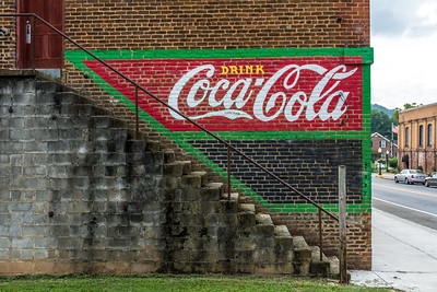 GA, Cave Springs - Coca-Cola Wall Sign 03