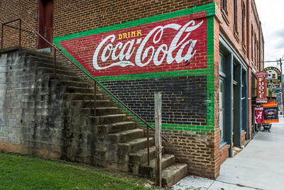 GA, Cave Springs - Coca-Cola Wall Sign