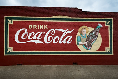 GA, Commerce - Coca-Cola Wall Sign 02